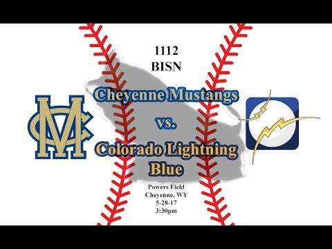 Baseball: Cheyenne Mustangs vs. Lightning Blue