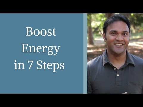 How to Increase Your Energy in 7 Steps - with Jeff Chand