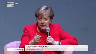 """Bundeskanzlerin Angela Merkel bei """"Brigitte Live"""" zur Ehe für alle...."""