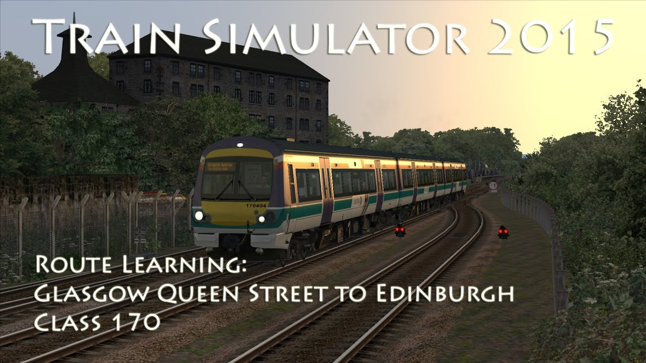 how to get from glasgow to edinburgh by train