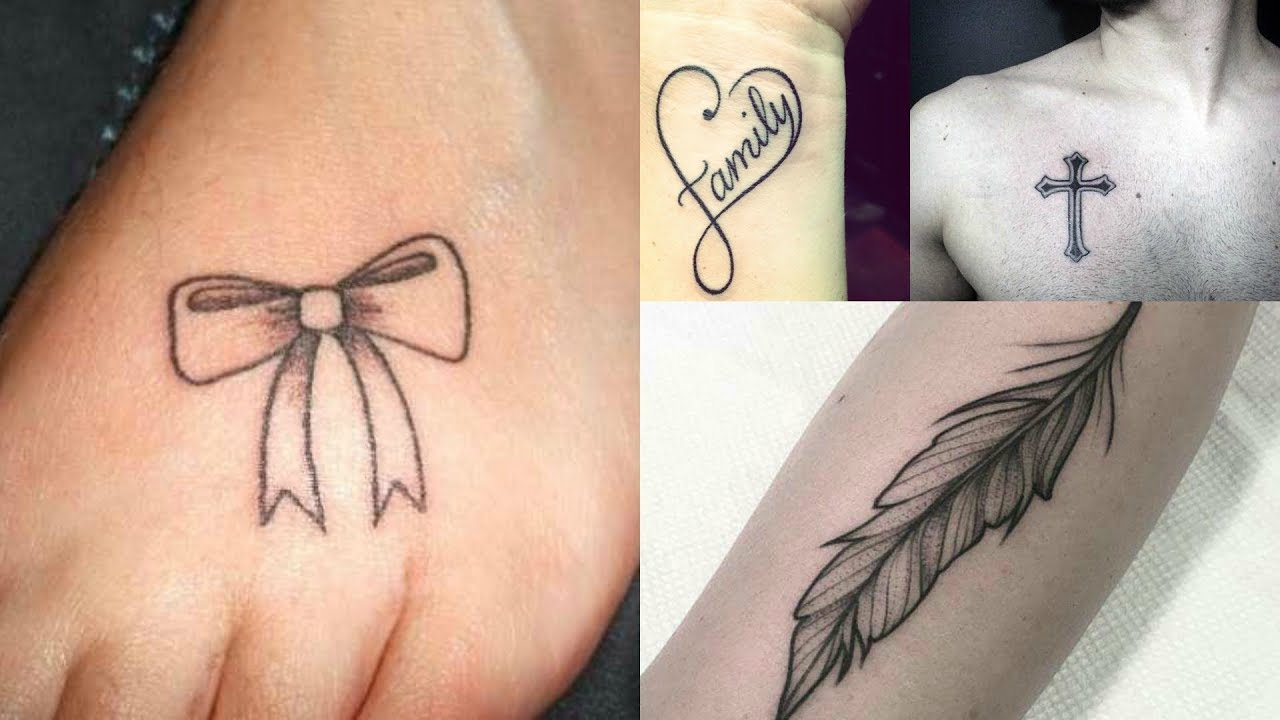 Simply Designed Tattoos For Girls & Boys || Fascinating Simple ...