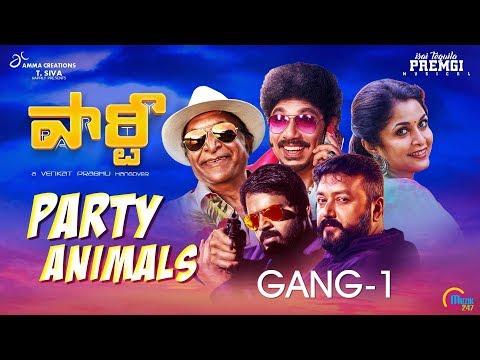 Party Animals Gang - 1   Sathyaraj, Jayaram, Ramya Krishnan, Nasser, Shaam     Venkat Prabhu, Premgi