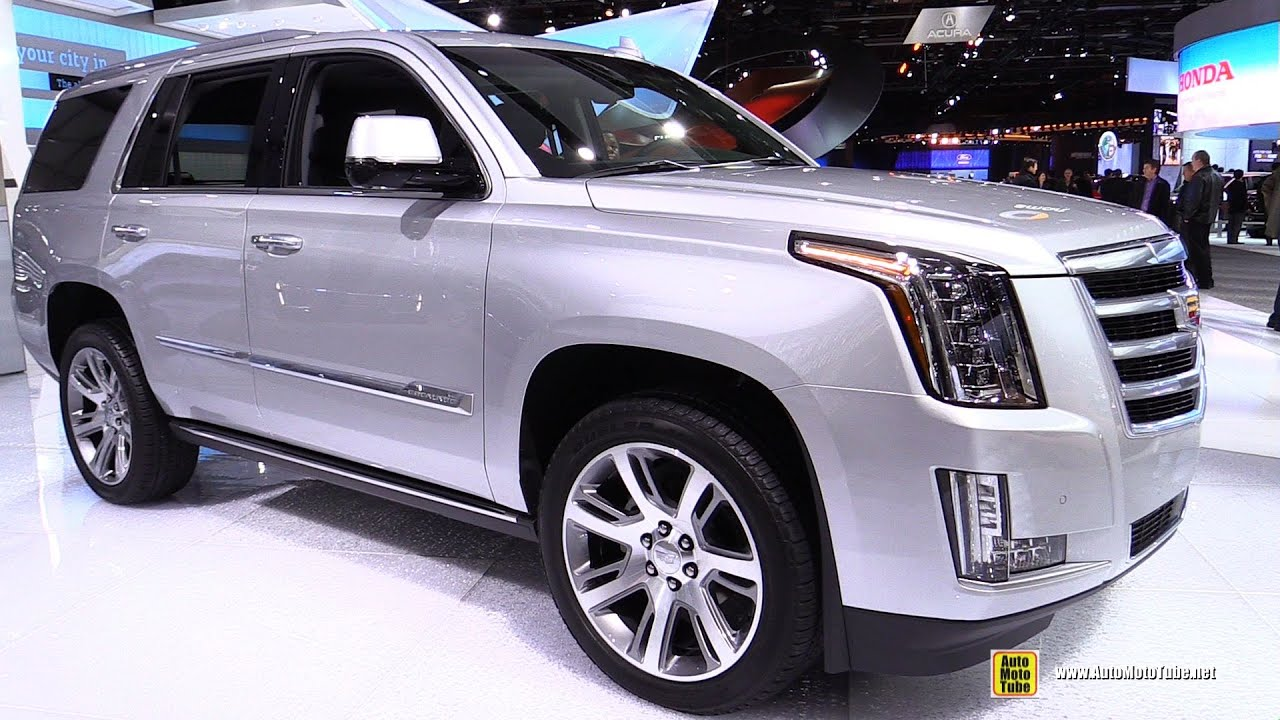 2016 Cadillac Escalade Exterior And Interior Walkaround Detroit Auto Show