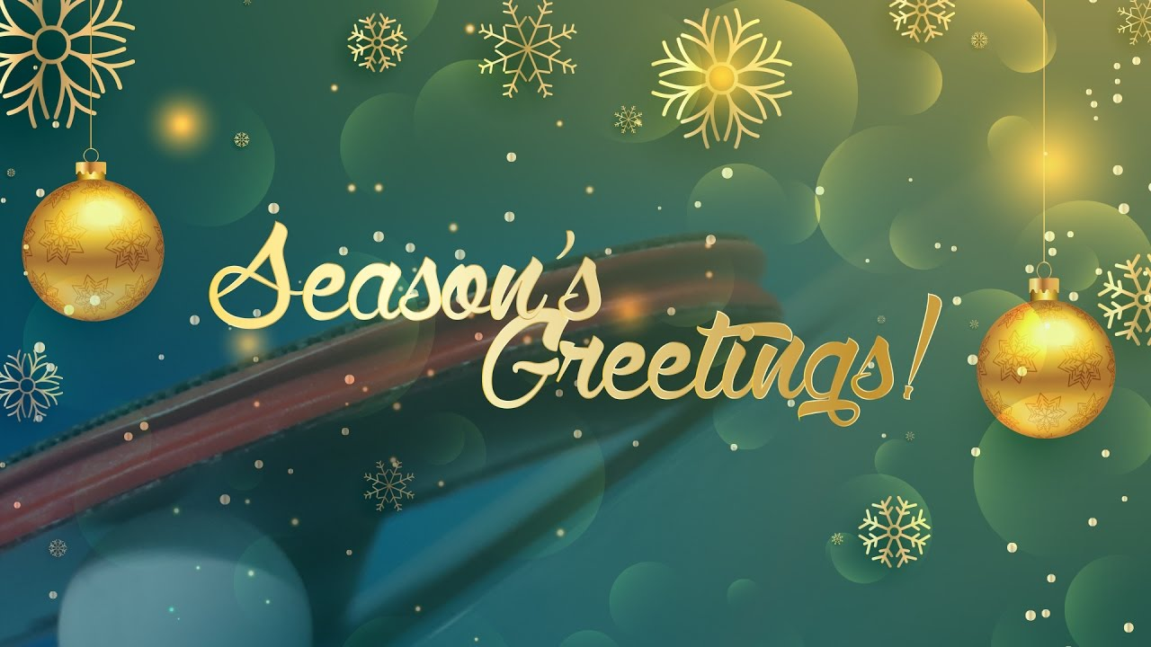 seasons greetings happy new year from table tennis