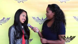 Hollywood Launch's Nikki Castillo's Interview on the Red Carpet
