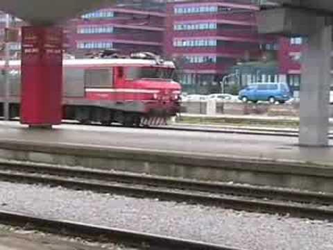 Rail action at Ljubljana, 30 June 08