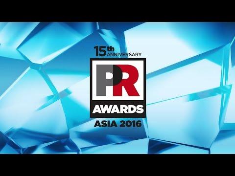 PR Awards Asia 2016