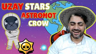 CHARACTERS IN SPACE - ASTRONOT CROW - SPACE STARS - Best Brawl Stars Animations