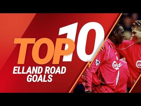 Top 10: Liverpool's best Premier League goals against Leeds at Elland Road
