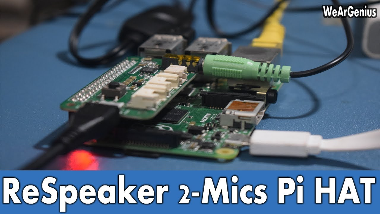 Audio Input to Raspberry Pi using Respeaker HAT | First Look #11