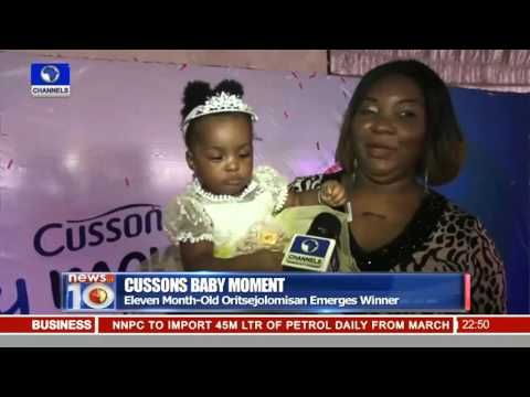 Cussons Baby Moments Third Edition Holds In Lagos