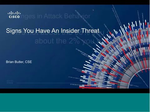 5 Signs you have an Insider Threat