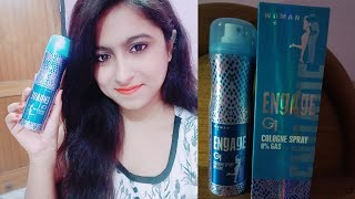 Engage G1 cologne spray honest review (Hindi) | Engage deodrant for women | Nd's tips