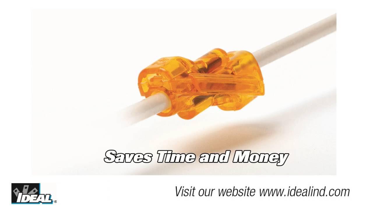 SpliceLine® In-Line Wire Connector Short - YouTube