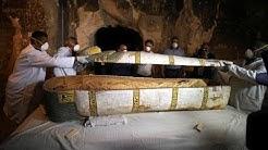 Ägypten: 3500 Jahre alter Sarkophag geöffnet