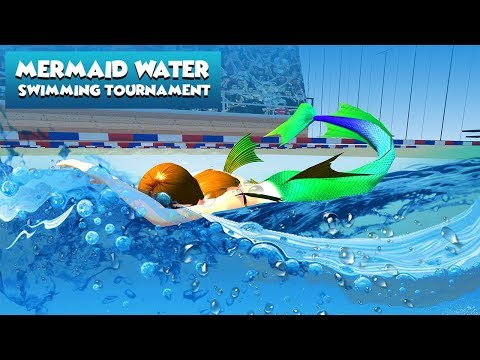 Mermaid Water Swimming Tournament