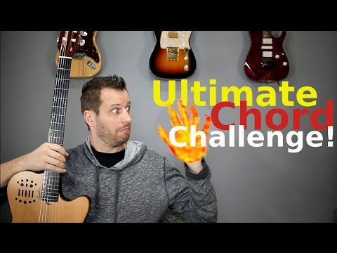 The Ultimate Chord Challenge! - Try to Play Them All!
