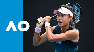 Qiang Wang v Fiona Ferro match highlights (1R) Australian Open 2019