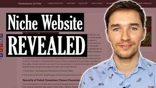 Affiliate Marketing Website REVEALED - Micro Niche Site Example