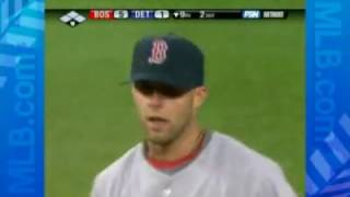 2008 MLB STORYLINE: Red Sox Dustin Pedroia, Kevin Yukilis lead Boston's infield, offence (5.9.0