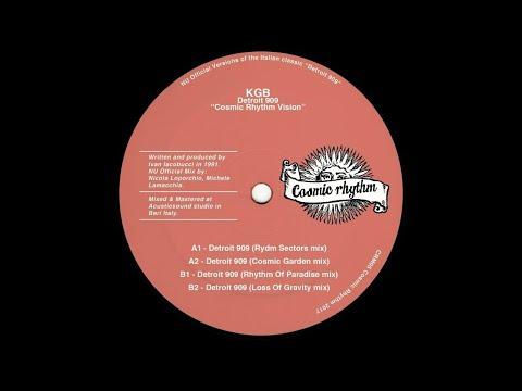 PREMIERE: KGB - Detroit 909 (Rydm Sectors mix) [Cosmic Rhythm]