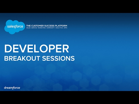 Building Beautiful Apps With the Salesforce Mobile SDK