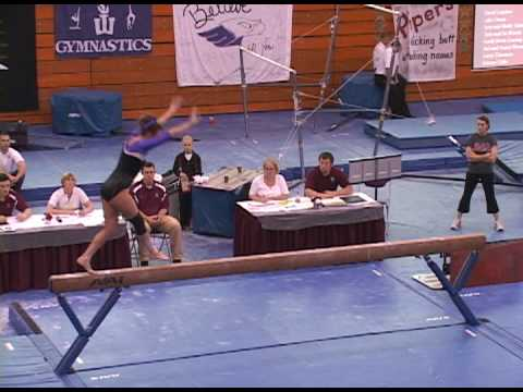 Danielle Doll - Whitewater - Beam - D3 Nationals 2...