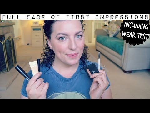 Full Face of First Impressions - Including wear test | Down to Earth Beauty | Fun | WavyKate