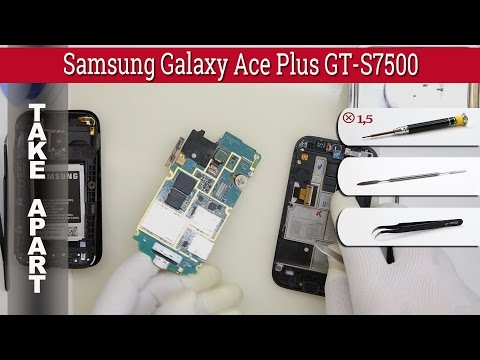 How to disassemble 📱 Samsung Galaxy Ace Plus GT-S7500 Take apart Tutorial
