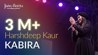 Kabira | Harshdeep Kaur Live At Jashn-e-Rekhta