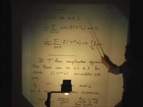 Pseudorandomness - Substitution sequences at primes - Peter Sarnak