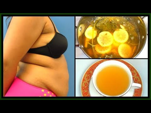 Drink This To Burn Belly Fat Fast, Fat Cutting Tea, Lose Belly Fat Overnight |Khichi Beauty