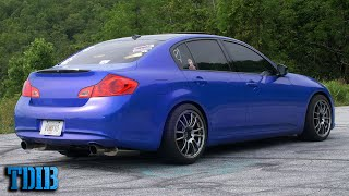 homepage tile video photo for 600HP BIG TURBO Infiniti G37x Review! The Q60's Granddaddy