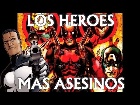 LOS 6 HEROES MAS ASESINOS DE MARVEL - zaaap - deadpool - wolverine - punisher