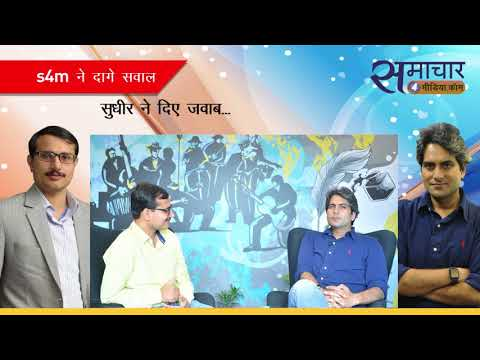 Interview with editor in chief of Zee News Sudhir Chaudhary-8