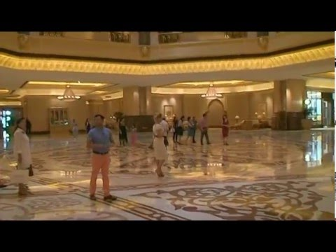 Emirates Palace – Traumhotel – Herzlich Willkommen - Dream Hotel – Welcome -  part 1