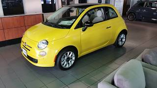 Fiat 500 City Car Walkaround review