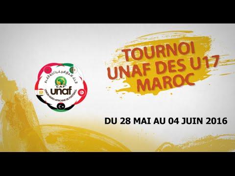 TOURNOI UNAF U17-MATCH DE CLASSEMENT TUNISIE vs ALGERIE