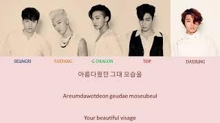BIGBANG – SUNSET GLOW Hangul Romanized English Lyrics