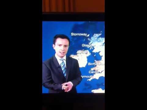 BBC Weather - Alex Deakin FAIL
