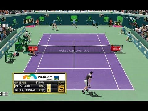 Raonic vs Almagro  | QF Masters 1000 Miami  | Ép.91 Tennis Elbow 2013