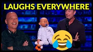 """Top 7 HILARIOUS """"TRY NOT TO LAUGH"""" BEST EVER Comedians of ALL THE TIME on AGT, BGT and WORLD!"""