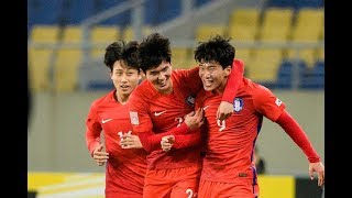Korea Republic 3-2 Australia (AFC U23 Championship 2018: Group Stage)