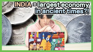 Korean Reacts to 【India was World's Largest Economy in Ancient Times?】 | Korean Dost Reaction