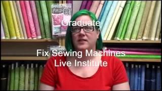 Andy Barney On Sewing Machine Repair School