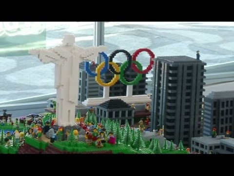 Olympic host city Rio recreated as colourful Lego model