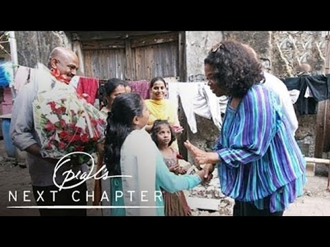 Oprah Visits a Family's Home in the Mumbai Slums | Oprah's Next Chapter | Oprah Winfrey Network