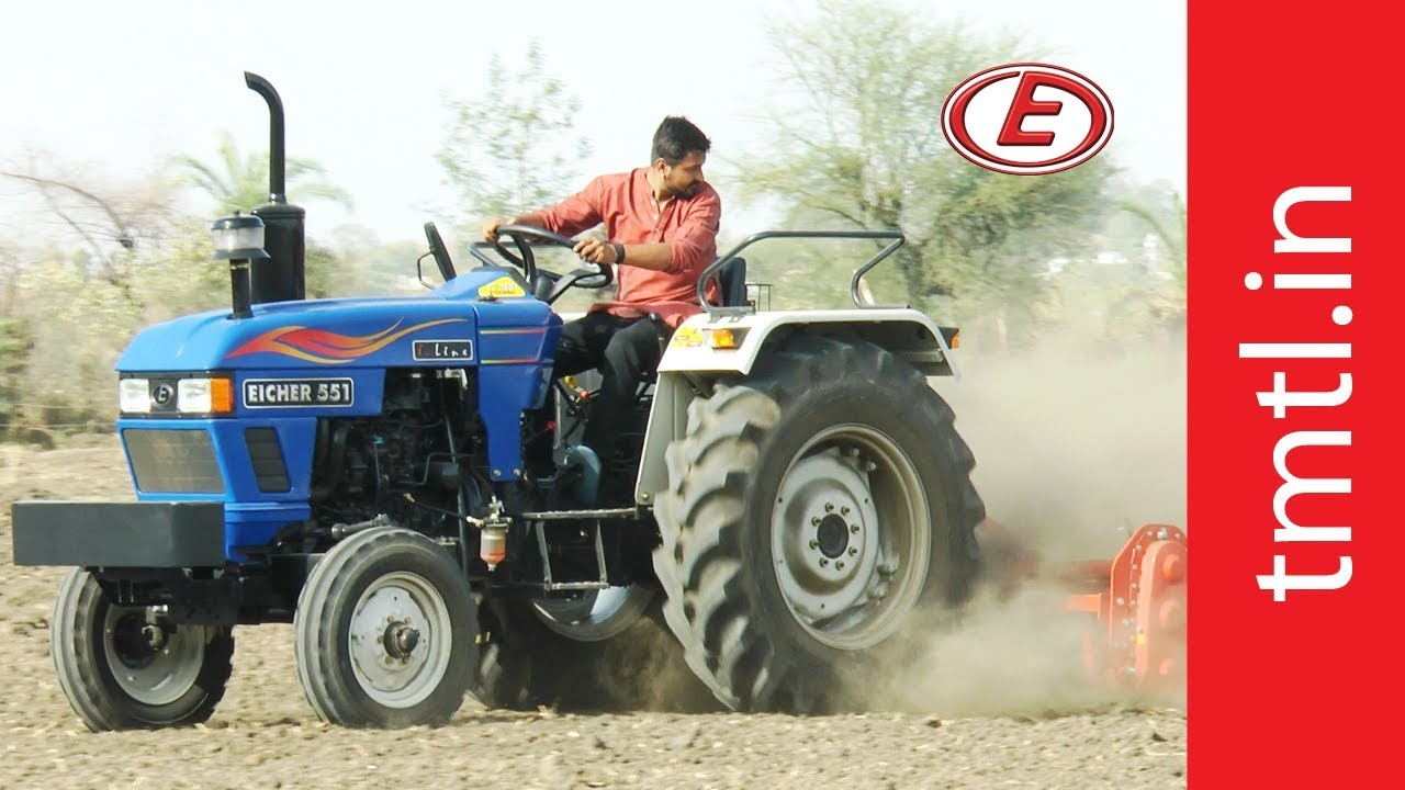 Eicher 551 Tractor - Product Video