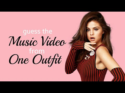 guess the music video from 1 outfit | Selena Gomez