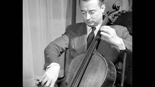 Pierre Fournier plays Francœur Sonata in E major, Cello